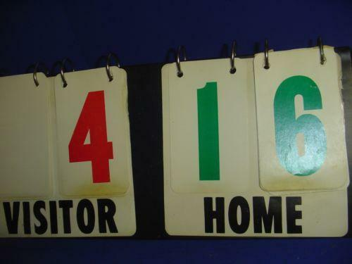 Vintage Football Scoreboard – Articleblog info