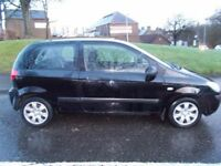 HYUNDAI GETZ GSI 2008 Petrol Manual in Black (black) 2008
