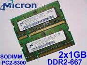 DDR2 PC2-5300 667MHz 200 Pin