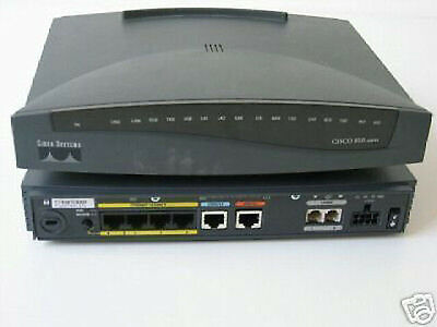 Cisco 800 Series 803 Router - ISDN / Console / Ethernet