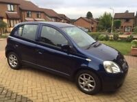 TOYOTA YARIS, 2004,FULL SERVICE HISTORY, 5 DOOR,YEAR MOT, EXCELLENT ON DRIVE