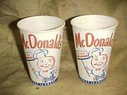McDonalds Cups