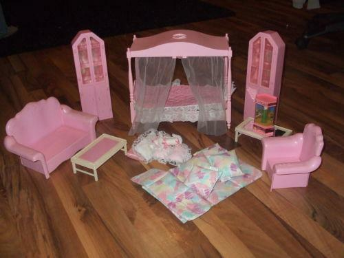 Barbie Canopy Bed Ebay