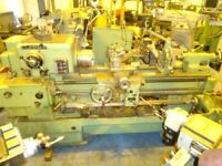 DEAN SMITH & GRACE TYPE 13 STRAIGHT BED CENTRE LATHE