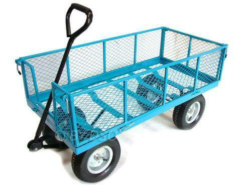 Folding Garden Trolley Ebay