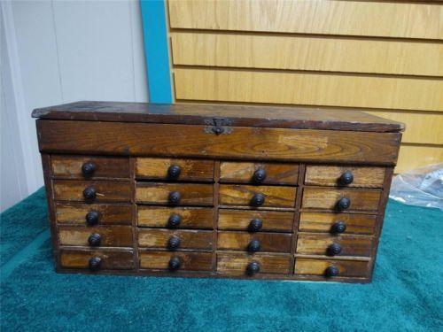 Watchmakers Cabinet Ebay