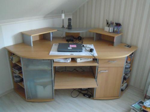 Computertisch gebraucht schreibtische computerm bel ebay for Computertisch birke