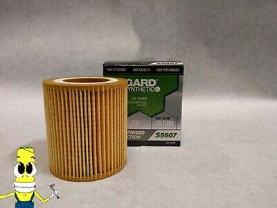 Synthetic Oil Filter for 2013-2015 BMW 328i xDrive with 2.0L Engine 10k Mile