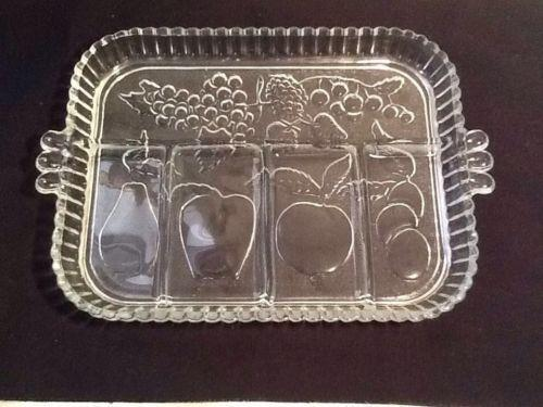 Clear Etched Depression Glass Patterns