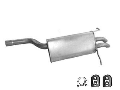 Endschalldämpfer MERCEDES-BENZ C-KLASSE W202 C200D Stufenheck 93-96 Endtopf