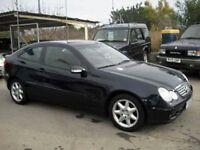 2002 MERCEDES C220 CDI COUPE AUTO - SOLD