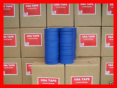 48 Rolls 1 X 60 Yrd Blue Painters Masking Tape Made In Usa Quick Ship Famous