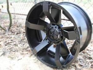 """20"""" KMC Rockstar XD2 WHEELS/TYRE PACKAGE Hilux Ranger Triton Ferntree Gully Knox Area Preview"""