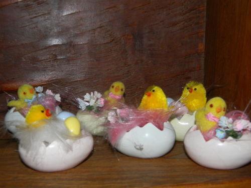 Vintage easter egg decorations ebay