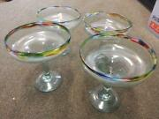 Mexican Hand Blown Glasses