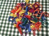 Bag of 60-70 cookie cutters- GREAT FOR KIDS COOKING PARTIES-Pick up in NW3 any time