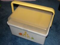 Nursery storage carry case