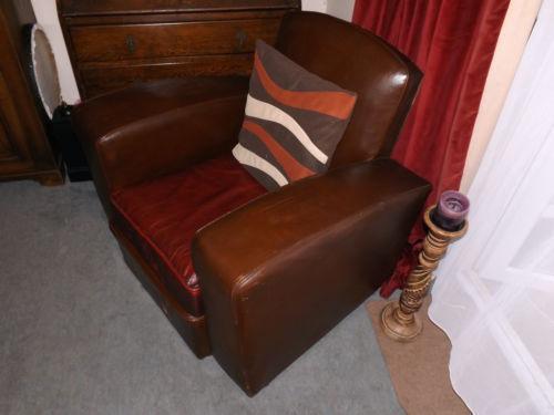 Pair Club Chairs | eBay