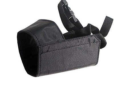 Quick Fit Dog Grooming Muzzle, with Adjustable Straps, black nylon, see sizes Adjustable Dog Grooming Muzzle