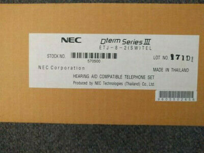 Nec Etj-8-2sw Telephone