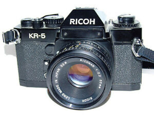 RICOH KR-5 SLR CAMERA JAPAN MADE
