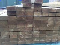 2x6 47mm x 150mm C24 treated regularised timber 4.8m lengths (wood for trusses, roofs, joists etc)