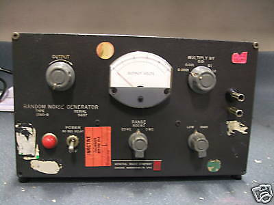 1390-b General Radio Random Noise Generator