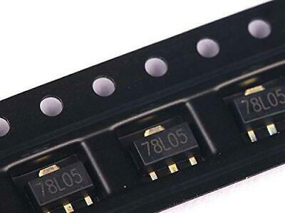 80 X Ultimate Smd Voltage Regulator Kit 5v-15v Positive Negative Sot-89