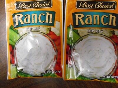 10 Best Choice Ranch Dip Mix 1 OZ Each Add Sour