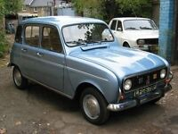Classic car required, Fiat 500, Renault 4, VW Camper Van, 70's Mercedes, Toyota or something unusual