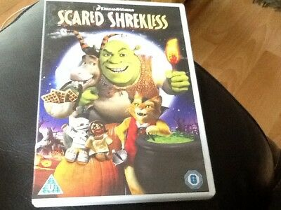 SCARED SHREKLESS . SHREKLESS HALLOWEEN SPECIAL DVD .SHREK'S SPOOKTACUKAR STORIES](Shrek Halloween Special)