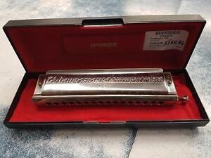 Magnifique Harmonica de marque Hohner, model  280C, en super etat pour seulement 199.99$!! (Z009472)