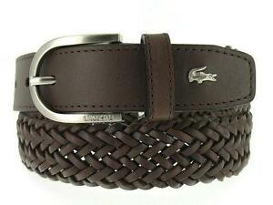 7f65434e1 Lacoste Mens Leather Belt