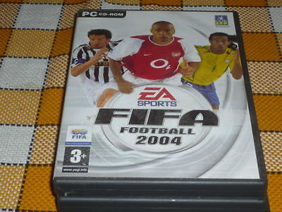 PC CD ROM FIFA 2004 used RARE Win 98 XP 2000 ME French EA Sports  for sale  Shipping to Nigeria