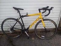 Carrera TDF road racing bike. 16 gears. 51cm Medium frame, very good condition, great bike.
