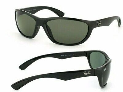 New men's Ray Ban RB4188 Black Sunglasses 63mm large made in ITALY FLASH (Ray Ban Flash Sale)