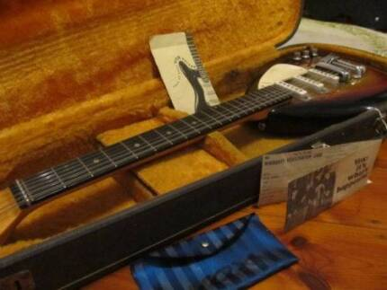 1963 Vox teardrop Mark XII 12 string vintage electric guitar Stanmore Marrickville Area Preview