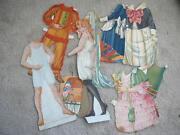 Paper Dolls Lot