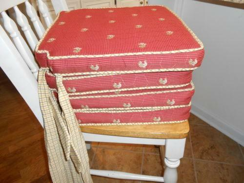 french country kitchen chair pads chair pads ebay 6737