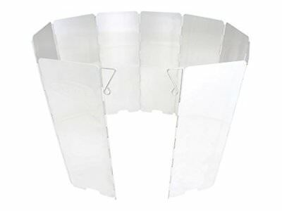 Gas One Aluminum 10 Plates Windscreen And Wind Blocker For Portable Camp Stoves