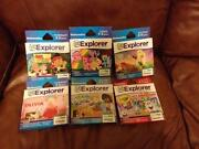 Leapster Explorer Games Lot