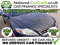 Ford Mondeo 1.6 TDCi ECO Zetec 5dr (start/stop) Good / Bad Credit Car Finance (grey) 2011
