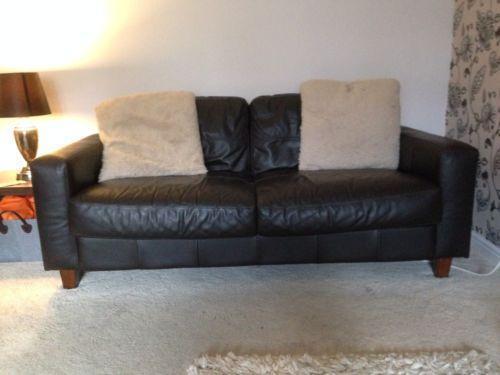 Next Leather Sofa Ebay