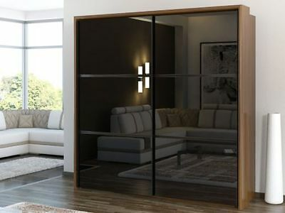 top 10 chic black wardrobes ebay. Black Bedroom Furniture Sets. Home Design Ideas