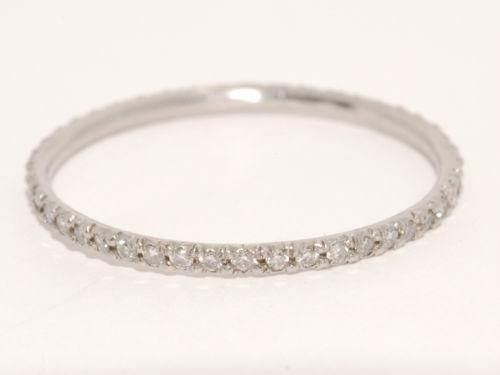 Thin Diamond Wedding Band EBay