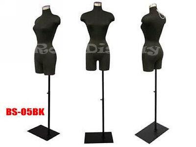 Female Mannequin Manequin Manikin Dress Form F2blgbs-05bk