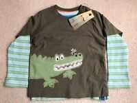 M&S NEW Crocodile Top
