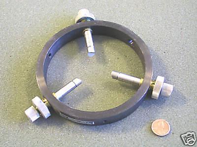 Newport Corp Alm-4 Precision Adjustable Lens Mount
