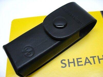 LEATHERMAN Black Premium LEATHER Sheath For Blast CRUNCH Multi-Tool 934835 New!