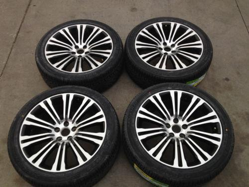 chrysler 300 rims and tires ebay. Black Bedroom Furniture Sets. Home Design Ideas